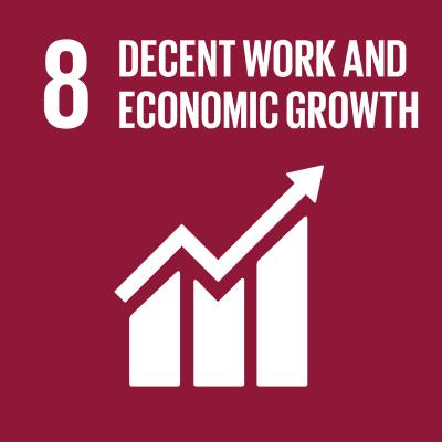 8. Decent Work & Economic Growth